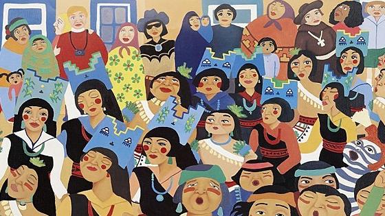Сны осьминога: 200 графических работ современных североамериканских индейцев