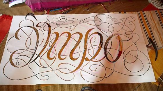 VIII Конкурс каллиграфии и леттеринга Zapfgames