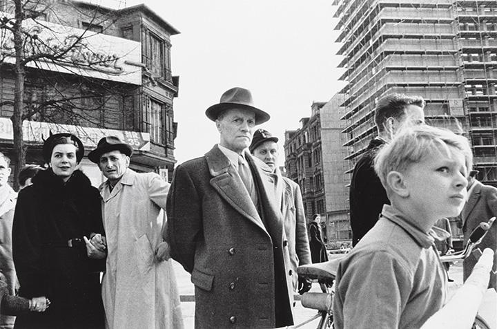 Арно Фишер. Западный Берлин, 1957
