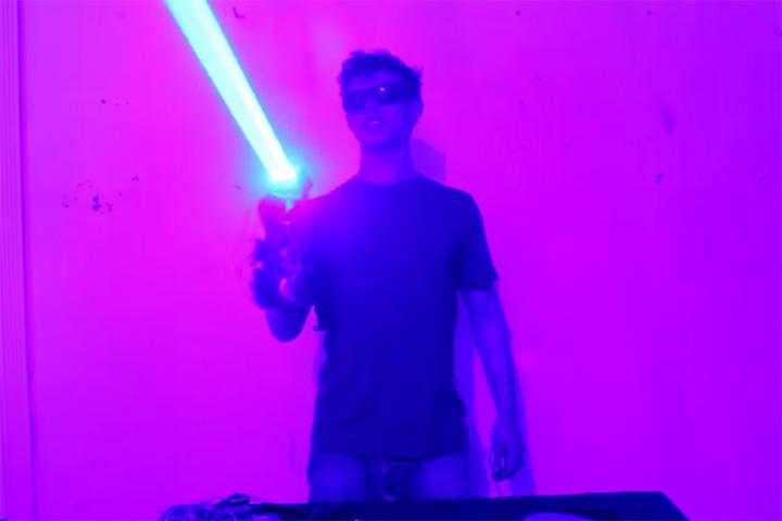 «Лазерный дробовик» своими руками