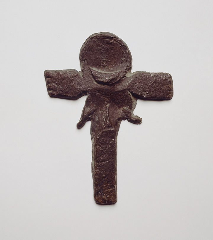 Йозеф Бойс. Крест для метания, 1952
