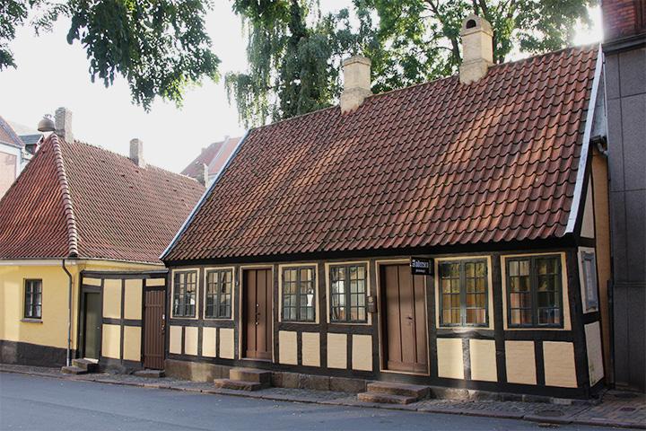 Дом, в котором вырос писатель