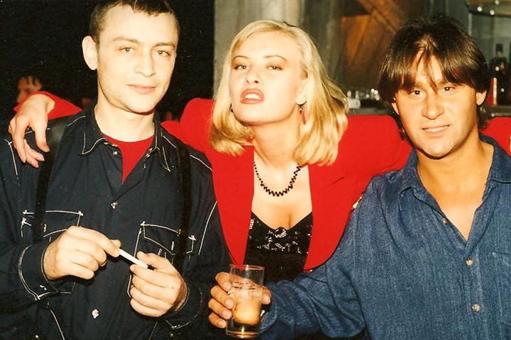 Олег Цодиков и Павел Ващекин, 1995 год