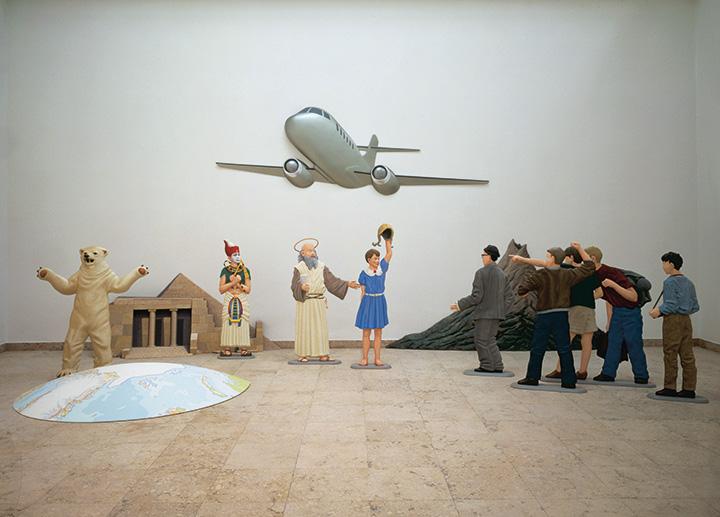 Мартин Хонерт. Летающая классная комната, 1995–1997