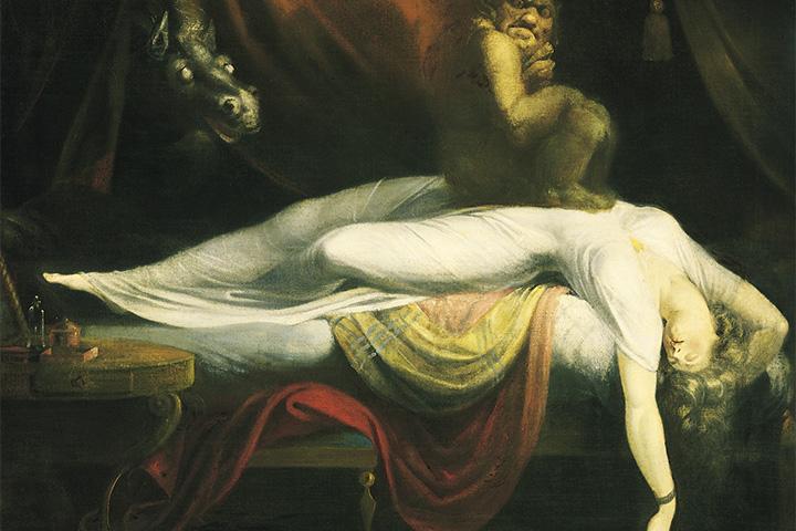 Иоганн Генрих Фюссли, «Кошмар», 1781