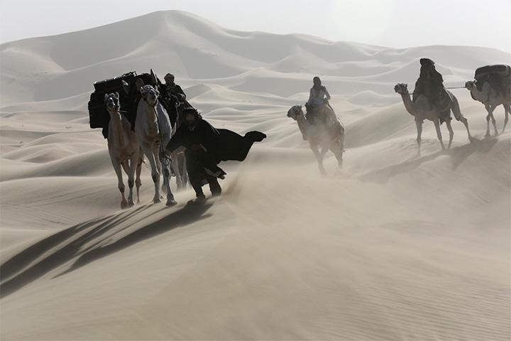 Кадр из «Королевы пустыни» Вернера Херцога