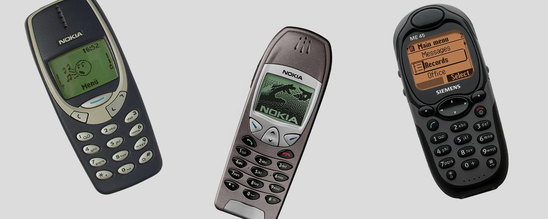 5 самых популярных телефонов из прошлого