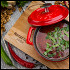 Ресторан Натахтари в Большом Черкасском - фотография 11 - борщ с телятиной