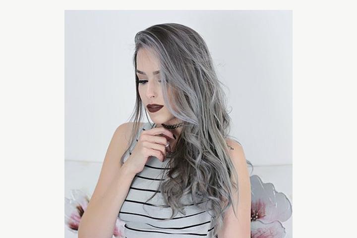 Фото цветных волос на лобке фото 6-667