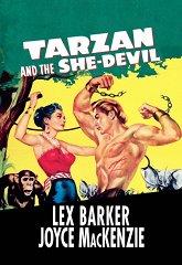 Постер Тарзан и дьяволица