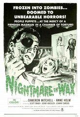 Постер Восковой кошмар