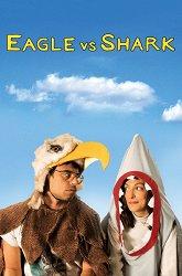 Постер Орел против акулы