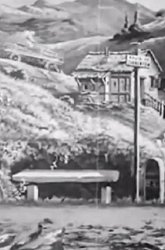 Постер Путешествие на автомобиле из Парижа в Монте-Карло за два часа
