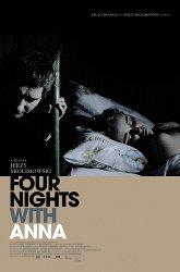 Постер Четыре ночи с Анной