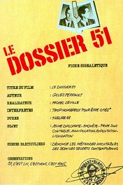 Досье на 51-го / Le dossier 51