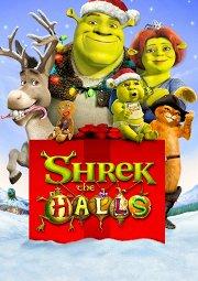Постер Шрэк-мороз, зеленый нос