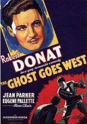 Постер Призрак едет на Запад