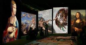 Оживающие полотна. Ренессанс. Гении эпохи