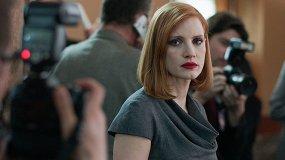 «Опасная игра Слоун»: Джессика Честейн в политической драме под Аарона Соркина