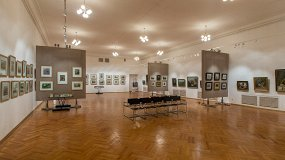 Экспозиция музея Порфирия Крылова
