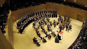 Хор, детский хор и симфонический оркестр Мариинского театра. Дирижер Андрей Петренко