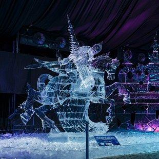 Фестиваль ледовых скульптур Ice Fantasy 2019
