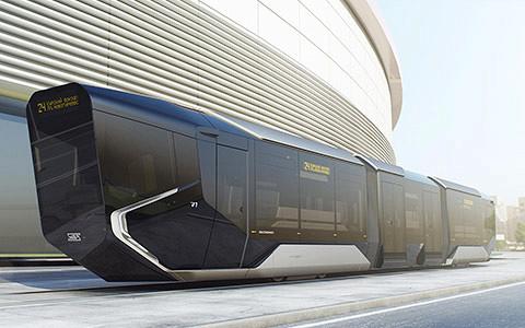 Трамвай Russia One — так называемый айфон с Уралвагонзавода