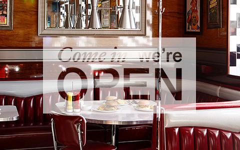 Long Island Diner & Bar, детская цирюльня в «Эрмитаже», корнер Linda Farrow