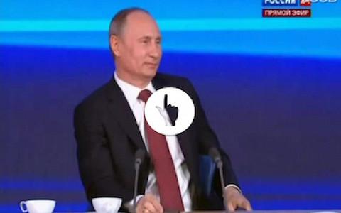 15 хитов пресс-конференции Путина