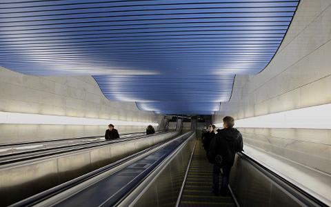 Новая станция в Сити — «Деловой центр»
