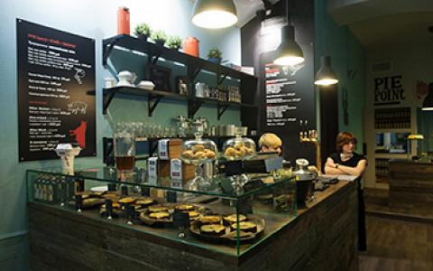 Кафе с британскими пирогами на Большой Бронной