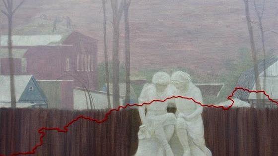 Выставка произведений стажеров творческих мастерских Российской академии художеств