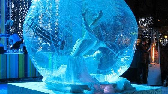 Волшебство света и музыки