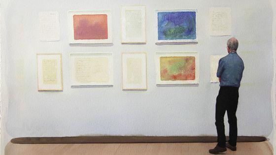 Передвижной музей одной картины
