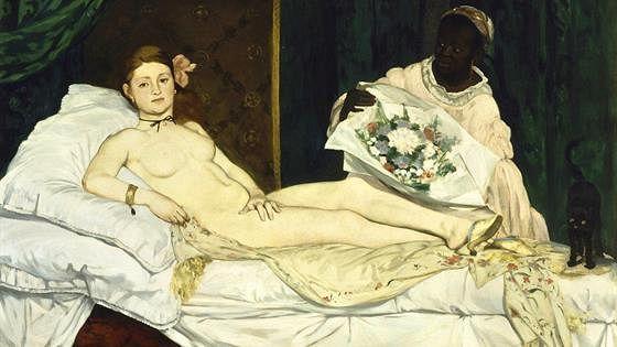 «Олимпия» Эдуарда Мане из собрания Музея д'Орсэ (Париж)