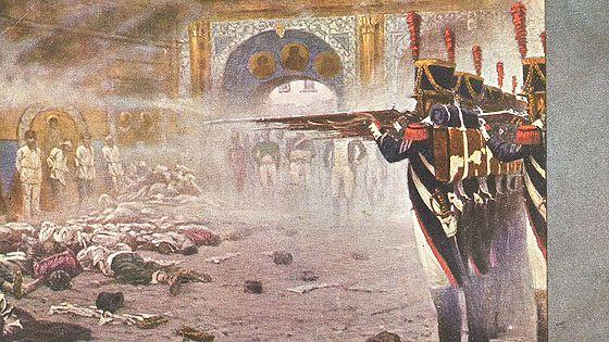 Война 1812 года в открытках