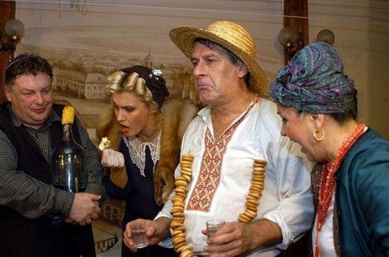 У Києві, на Подолі ... Або гдє ві сохнітє бєльйо?