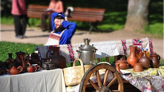 Чайные сады в усадьбе Воронцово