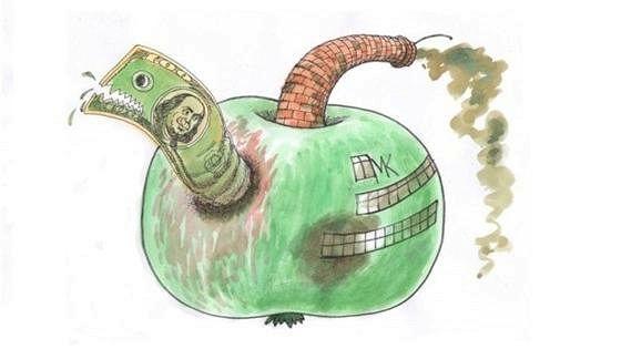 Плюс 1°С. Климатические изменения на языке карикатуристов Украины и Швеции