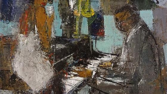 Летняя выставка работ художников галереи