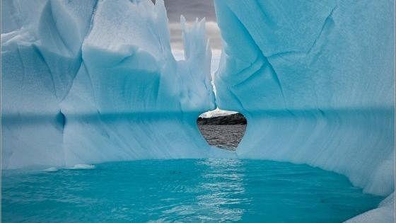 Приближение к Антарктиде