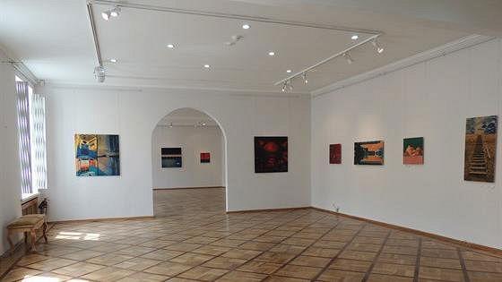 Выставочный зал Музея городской скульптуры