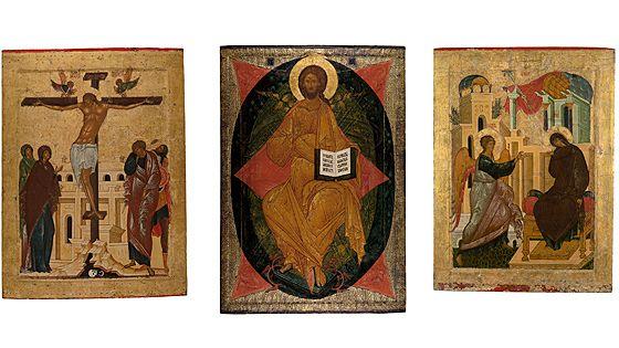 Иконостас Кирилло-Белозерского монастыря