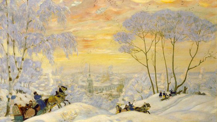 Борис Кустодиев. Венец земного цвета