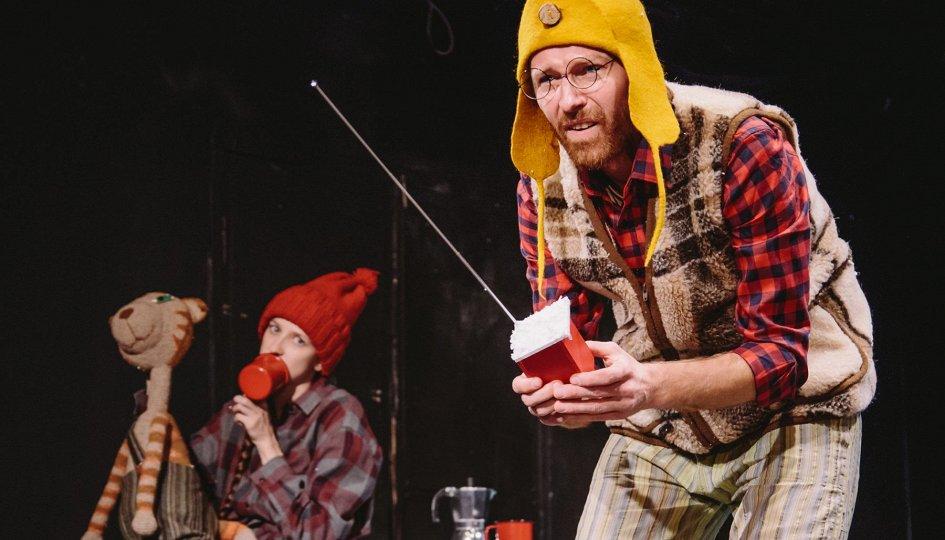 Театр: Финдус и механический Дед Мороз