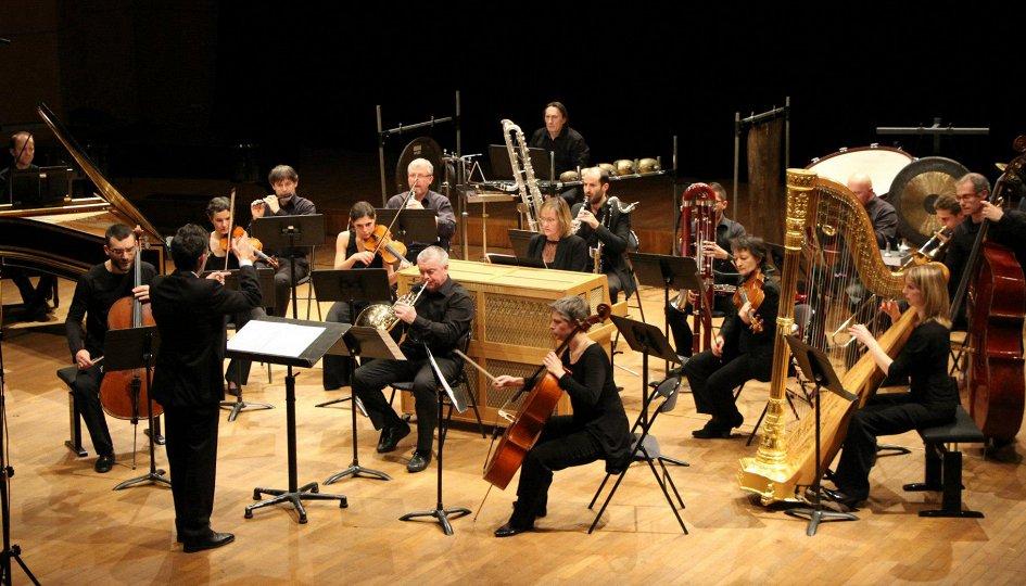 Концерты: Ensemble 2e2m