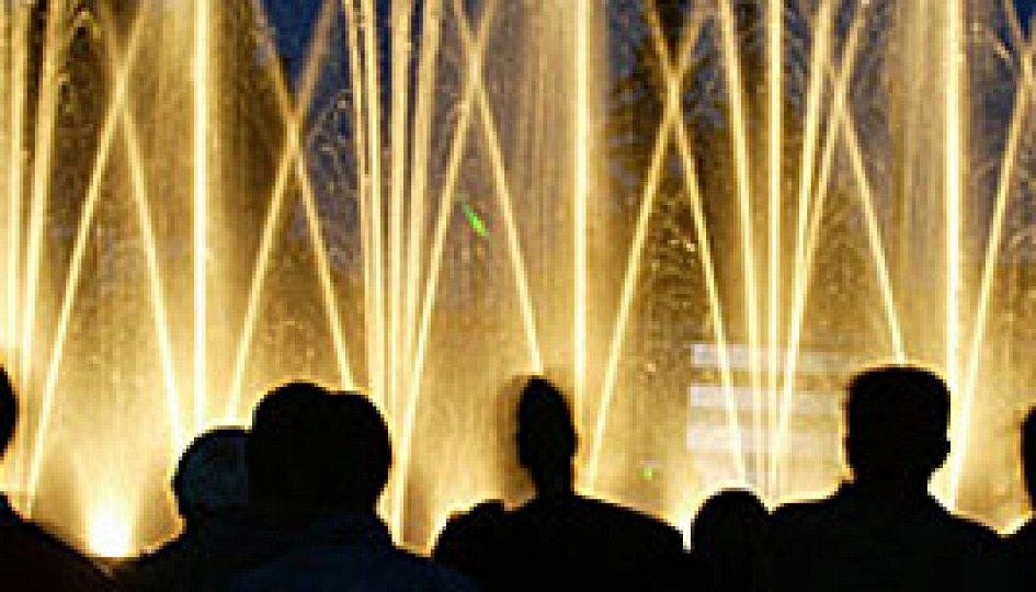 Театр: Шоу танцующих фонтанов