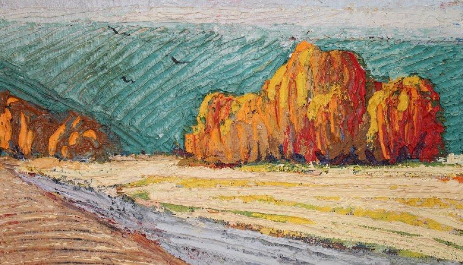 Выставки: Артуш Карапетян. Философия живописи