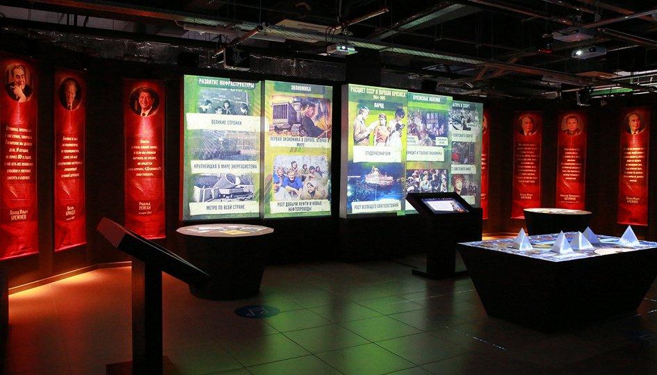 Выставки: Россия — моя история. 1945–2016