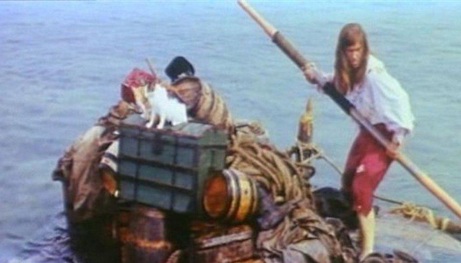 Кино: «Жизнь и удивительные приключения Робинзона Крузо»